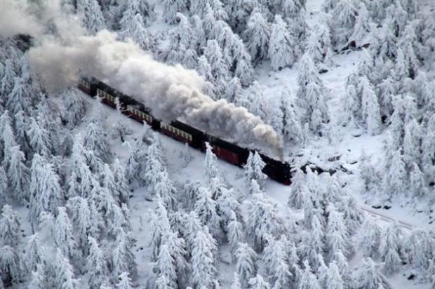 7. Almanyanın en yüksek dağı Brocken'e yolculuk.
