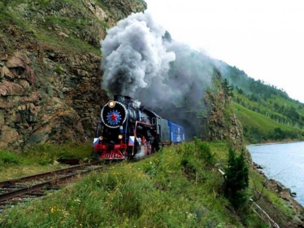 9. Vladivostok'tan Moskova'ya uzanan bir yolculuk.