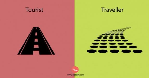 2. Turist hep kolay yolu seçer. Ama seyahat sever zor olanın peşindedir.