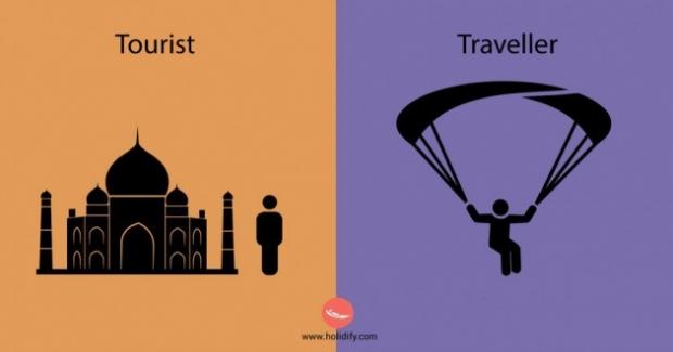 5. Turist adrenalin aramaz. Ama seyahat sever maceraperesttir.