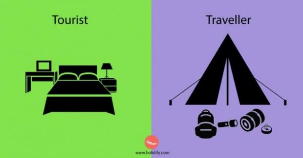 7. Bir turist kendi için en ideal oteli arar, seyahat sever ise en uygun yeşiilik alanı.
