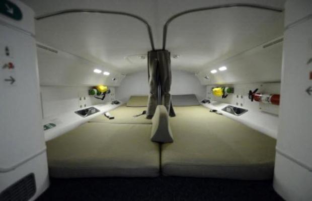 6. Mürettebat dinlenme odaları