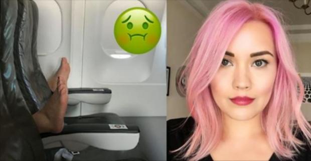 Uçakta Arkasına Oturabilecek En Kötü Yolcuyla Karşılaşan Talihsiz Kadının Trajikomik Paylaşımı