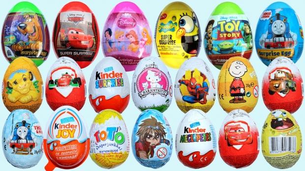 12. Sürpriz yumurta - ABD